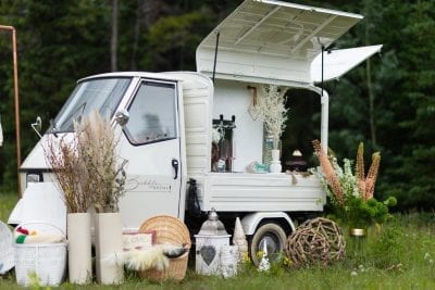 Bubbles and Brew Prosecco Cart